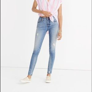 Madewell 9inch high rise jeans!!!